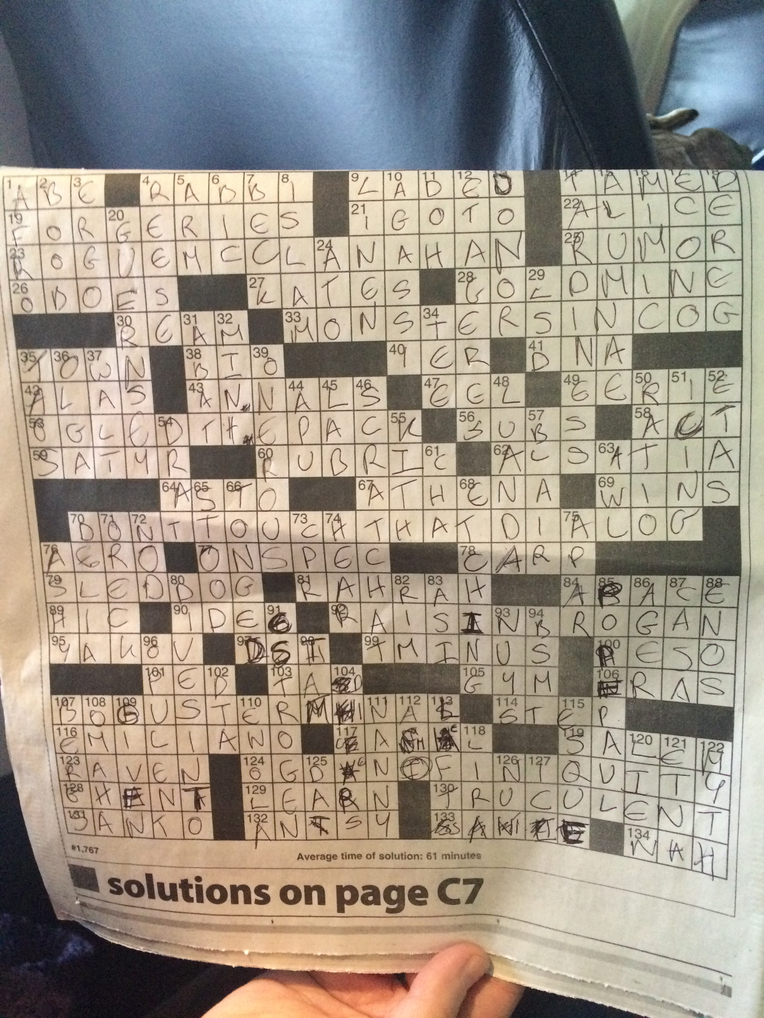 Guest crossword